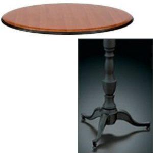 9500 Series Pedestal Base Table Leisters Furniture
